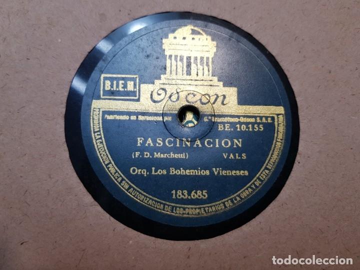 Discos de pizarra: Discos de Pizarra lote 12 en album Vals ,Olas del Danubio y otros grandes temas - Foto 6 - 176980205