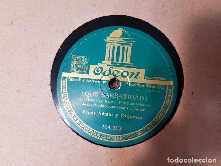Discos de pizarra: Discos de Pizarra lote 12 en album Vals ,Olas del Danubio y otros grandes temas - Foto 7 - 176980205