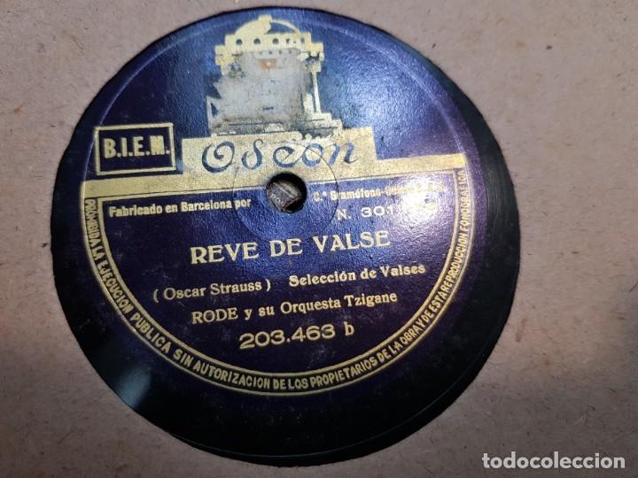 Discos de pizarra: Discos de Pizarra lote 12 en album Vals ,Olas del Danubio y otros grandes temas - Foto 8 - 176980205