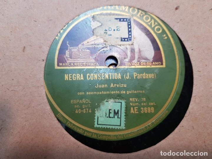 Discos de pizarra: Discos de Pizarra lote 12 en album Vals ,Olas del Danubio y otros grandes temas - Foto 10 - 176980205