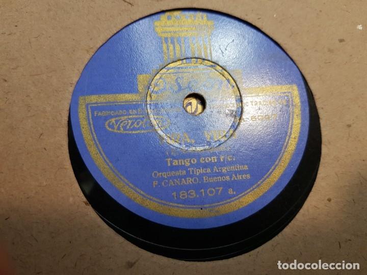 Discos de pizarra: Discos de Pizarra lote 12 en album Vals ,Olas del Danubio y otros grandes temas - Foto 11 - 176980205
