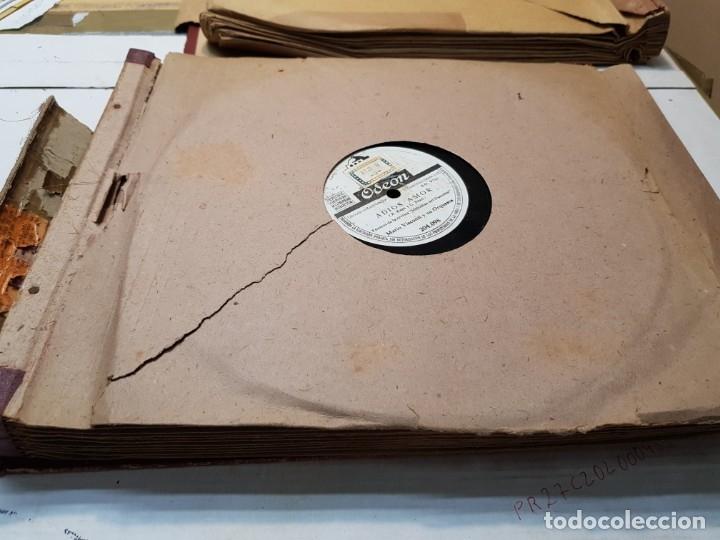 Discos de pizarra: Discos de Pizarra lote 12 en album Vals ,Olas del Danubio y otros grandes temas - Foto 13 - 176980205