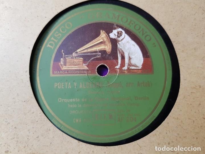 Discos de pizarra: Discos de Pizarra lote 8 en album Vals ,Danubio Azul y otros grandes temas - Foto 3 - 176980473