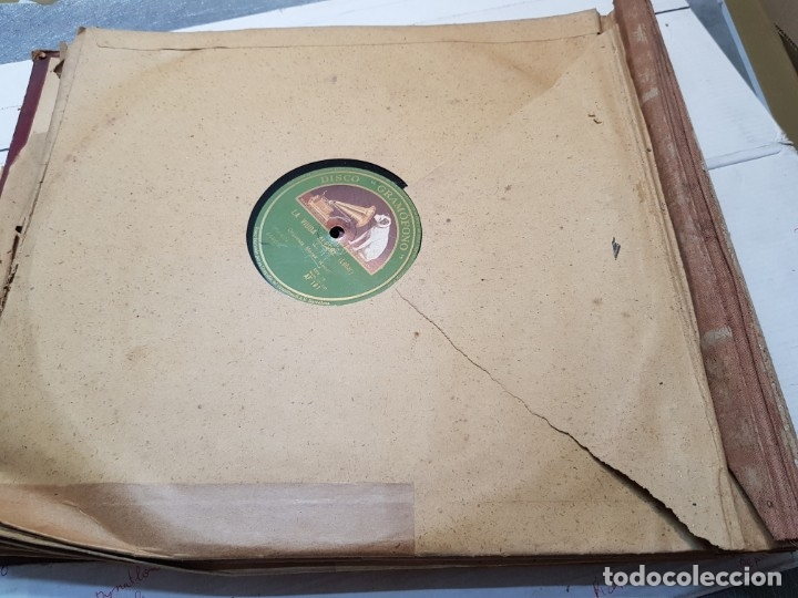 Discos de pizarra: Discos de Pizarra lote 8 en album Vals ,Danubio Azul y otros grandes temas - Foto 9 - 176980473