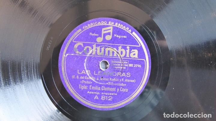 Discos de pizarra: DISCO DE PIZARRA - LAS LEANDRAS EMILIA CLEMENT - Foto 4 - 177113252