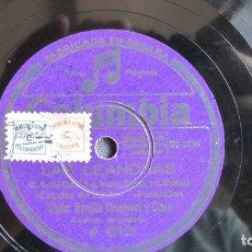 Discos de pizarra: DISCO DE PIZARRA - LAS LEANDRAS EMILIA CLEMENT . Lote 177113252