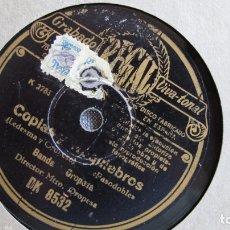Discos de pizarra: DISCO DE PIZARRA - GITANA DE ALBAICÍN - COPIAS Y REQUIEBROS. Lote 177114459