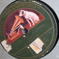 Discos de pizarra: DISCO DE PIZARRA - EN EL TREN - ORTAS - LA CONFESIÓN . Lote 177115142