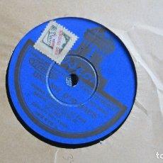 Discos de pizarra: DISCO DE PIZARRA - UNA NIT D'ALBAES UNIÓN MUSICAL DE LIRIA . 1 PARTE . Lote 177118328