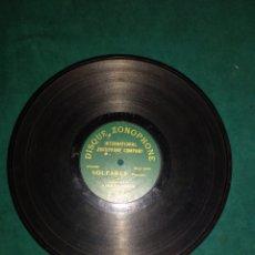 Discos de pizarra: NIÑO DE CABRA SOLEARES, DISCO MONOCARA. Lote 177213022