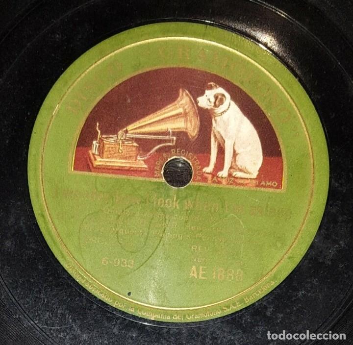 Discos de pizarra: DISCO 78 RPM - GRAMOFONO - ORQUESTA WARING´S PENNSYLVANIANS - I´VE NEVER SEEN A STRAIGHT.. - PIZARRA - Foto 2 - 177399637