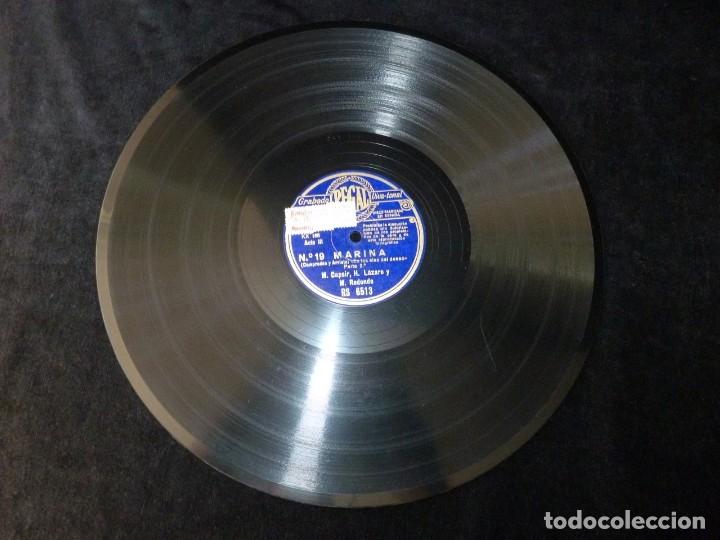Discos de pizarra: ZARZUELA. MARINA Nº19-20. SEGUIDILLAS - EN LAS ALAS DEL DESEO. CASPIR, LÁZARO Y REDONDO. REGAL RS651 - Foto 2 - 177602515