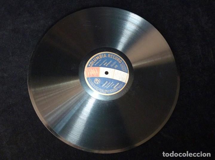Discos de pizarra: RIGOLETTO (VERDI). CARO NOME. MARÍA BARRIENTOS CON ACOMP.ORQUESTA. COLUMBIA RECORD 48649. MONOFACIAL - Foto 2 - 177603938