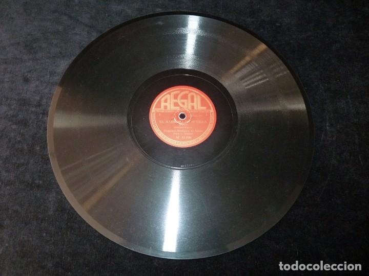 Discos de pizarra: EL BARBERO DE SEVILLA (ROSSINI). OBERTURA, PARTE 1ª y 2ª. SINFÓNICA MILAN. L. MALAJOLI. REGAL M15036 - Foto 2 - 177641269