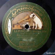 Discos de pizarra: ASUNCIÓN G. PARREÑO CON ORQUESTA. FLORINDA, CANCIÓN. LA PUBILLETA, SARDANA. DISCO GRAMOFONO W263711-. Lote 177876580