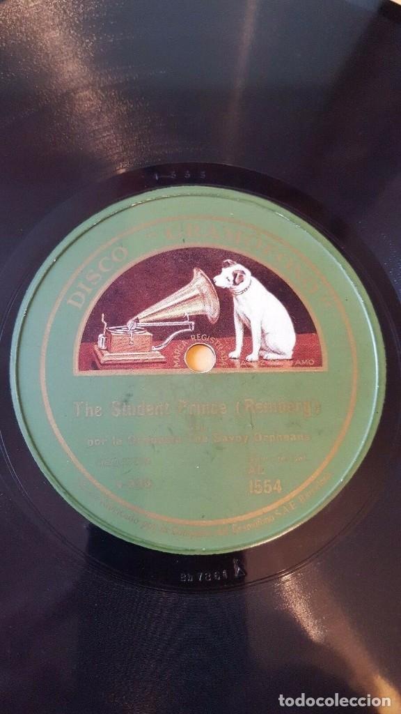 DISCO 78 RPM - GRAMOFONO - SAVOY ORPHEANS - SAVOY HAVANA - ORQUESTA - REMBERG - PADILLA - PIZARRA (Música - Discos - Pizarra - Jazz, Blues, R&B, Soul y Gospel)