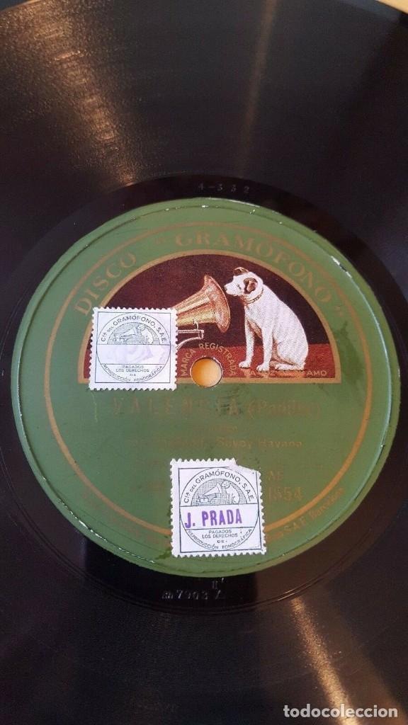 Discos de pizarra: DISCO 78 RPM - GRAMOFONO - SAVOY ORPHEANS - SAVOY HAVANA - ORQUESTA - REMBERG - PADILLA - PIZARRA - Foto 2 - 177895242