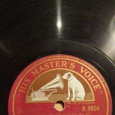 Discos de pizarra: DISCO 78 RPM - HIS MASTER´S VOICE - ARTIE SHAW - ORQUESTA - TABU - LECUONA - BEDFORD DRIVE - PIZARRA. Lote 177946409