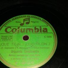 Discos de pizarra: DISCO DE PIZARRA. Lote 178148795