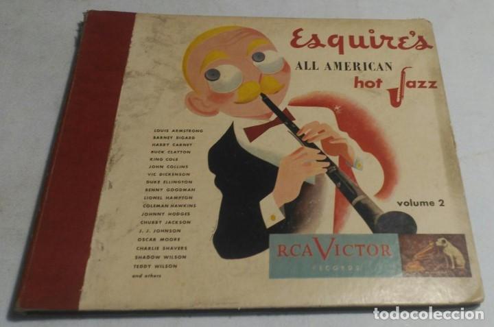 ALBUM DE 4 DISCOS - ESQUIRE'S ALL AMERICAN HOT JAZZ VOLUME 2 VARIOS (Música - Discos - Pizarra - Jazz, Blues, R&B, Soul y Gospel)