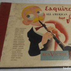 Discos de pizarra: ALBUM DE 4 DISCOS - ESQUIRE'S ALL AMERICAN HOT JAZZ VOLUME 2 VARIOS. Lote 178337058