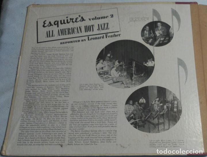 Discos de pizarra: ALBUM DE 4 DISCOS - ESQUIRES ALL AMERICAN HOT JAZZ VOLUME 2 VARIOS - Foto 2 - 178337058