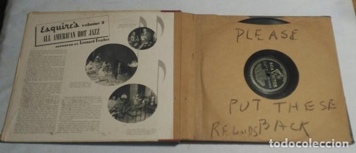Discos de pizarra: ALBUM DE 4 DISCOS - ESQUIRES ALL AMERICAN HOT JAZZ VOLUME 2 VARIOS - Foto 5 - 178337058