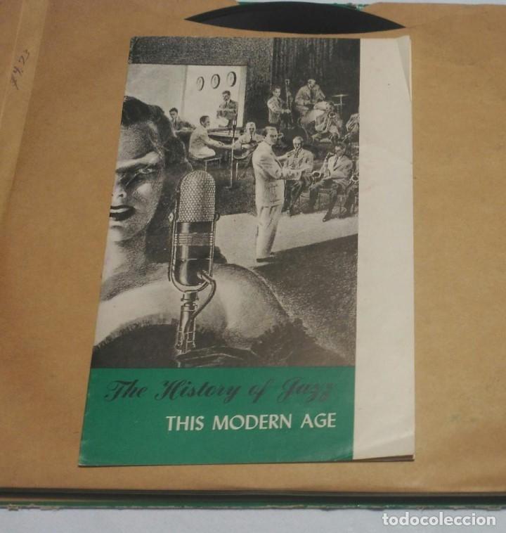 Discos de pizarra: ALBUM DE 5 DISCOS - THIS MODERN AGE VOL.4 THE HISTORY OF JAZZ - Foto 5 - 178341263