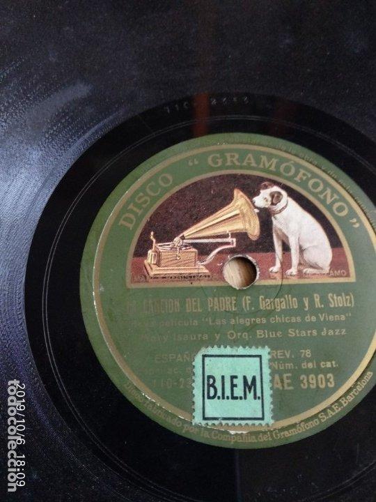 DISCO PIZARRA QUIERO A UNA RUBIA, F.GARGALLO Y VICENTE SIMON ORQUESTA BLUE STARS JAZZ (Música - Discos - Pizarra - Flamenco, Canción española y Cuplé)