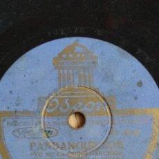 Discos de pizarra: DISCO PIZARRA MILONGA, NIÑO DE LA HUERTA,UN SOLDADO HERIDO Y FANDANGUILLOS, MANOLO BADAJOZ. Lote 178372557