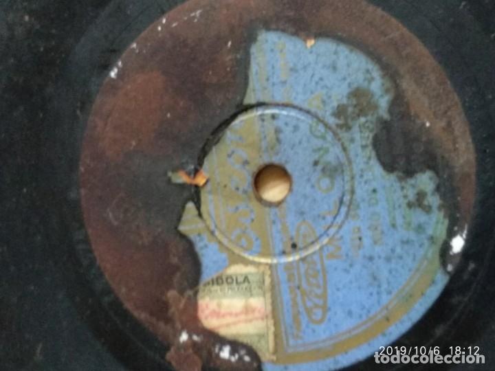 Discos de pizarra: DISCO PIZARRA MILONGA, NIÑO DE LA HUERTA,UN SOLDADO HERIDO Y FANDANGUILLOS, MANOLO BADAJOZ - Foto 2 - 178372557
