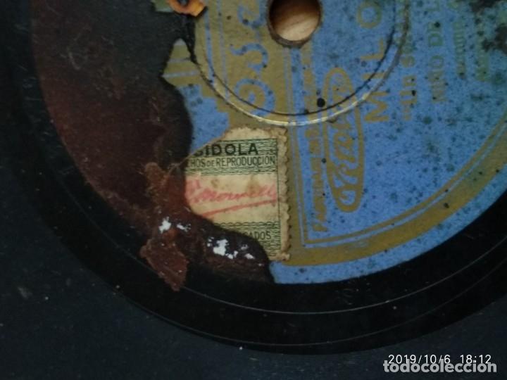 Discos de pizarra: DISCO PIZARRA MILONGA, NIÑO DE LA HUERTA,UN SOLDADO HERIDO Y FANDANGUILLOS, MANOLO BADAJOZ - Foto 3 - 178372557