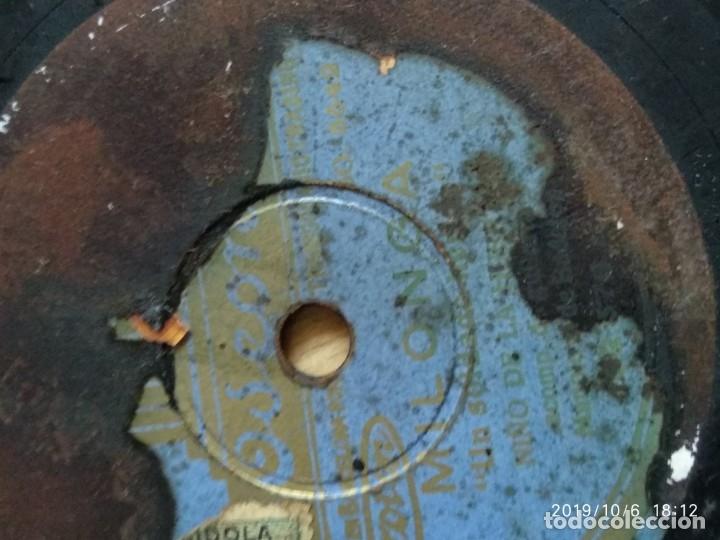Discos de pizarra: DISCO PIZARRA MILONGA, NIÑO DE LA HUERTA,UN SOLDADO HERIDO Y FANDANGUILLOS, MANOLO BADAJOZ - Foto 4 - 178372557