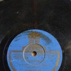 Discos de pizarra: DISCO DE PIZARRA DE FANDANGOS, CARBONERILLO, MANOLO BADAJOZ, TE QUIERO PORQUE TE QUIERO, SU ALGUN . Lote 178373012