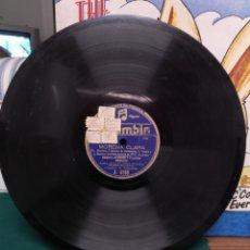 Discos de pizarra: PLÁCIDO DOMINGO (PADRE)/RAQUEL RODRIGO, MORENA CLARA. Lote 178393186