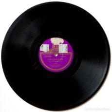Discos de pizarra: CARLITOS GARDEL, LA CIEGUITA, LOBO DE MAR, ODEON 200046 DISCO DE PIZARRA. Lote 178395241