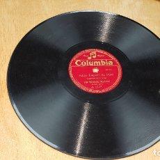 Discos de pizarra: DISCO COLUMBIA , ADIOS LUGARIN DE PION, DICEN QUE LOS GUEZ DE XUANA, JOSE MENENDEZ (CUCHICHI) A 1227. Lote 178650627