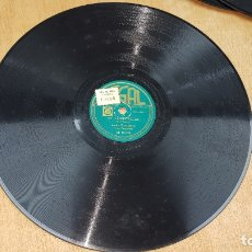 Discos de pizarra: DISCO REGAL , ST LOUIS BLUES ANDRE KOSTELANETZ M 10.024, TIEMPO BORRASCOSO. Lote 178664060