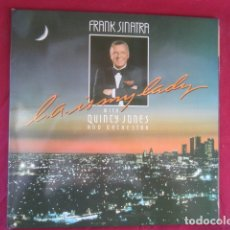 Discos de pizarra: FRANK SINATRA WITH QUINCY JONES AND ORCHESTRA - L.A. IS MY LADY. Lote 178669930