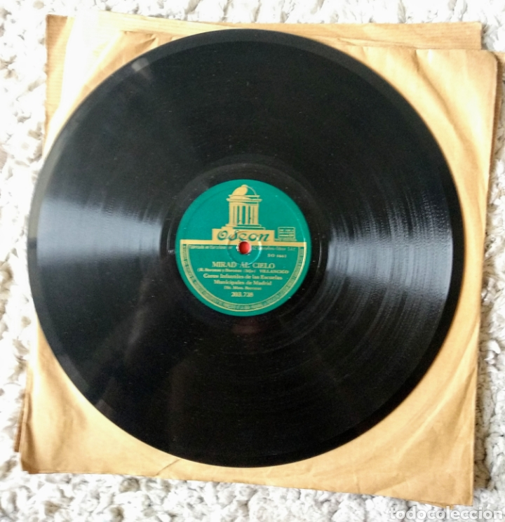 Discos de pizarra: Discos de pizarra muy antiguos varios géneros - Foto 8 - 178774215