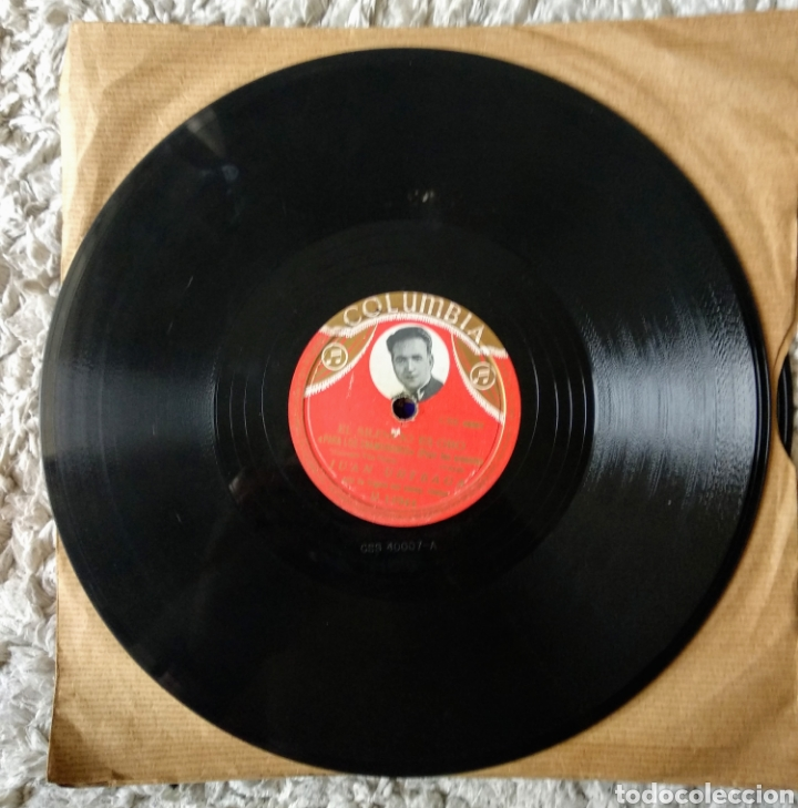 Discos de pizarra: Discos de pizarra muy antiguos varios géneros - Foto 10 - 178774215