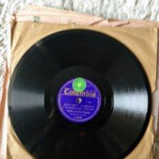 Discos de pizarra: DISCOS DE PIZARRA MUY ANTIGUOS VARIOS GÉNEROS. Lote 178774215