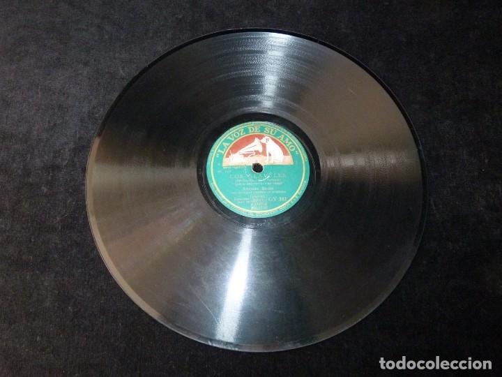 Discos de pizarra: AMPARO ROMO, ALBIACH, SIMON Y ORQUETA. ZARZUELA LOS CLAVELES. LA VOZ DE SU AMO GY382 - Foto 2 - 178809080