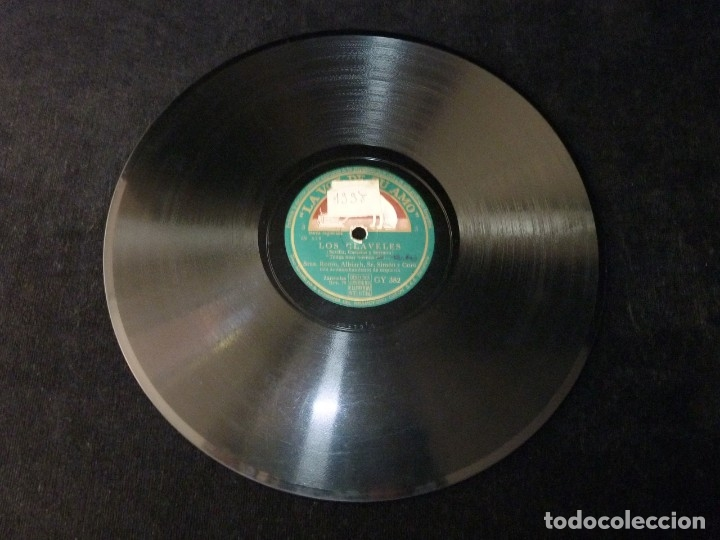 Discos de pizarra: AMPARO ROMO, ALBIACH, SIMON Y ORQUETA. ZARZUELA LOS CLAVELES. LA VOZ DE SU AMO GY382 - Foto 4 - 178809080