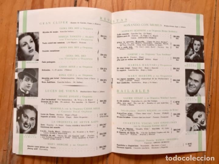 Discos de pizarra: LOTE TRIO CALAVERAS DISCO PIZARRA PLEGARIA GUADALUPANA PAJARO CU Y CATALOGO DISCOS 1948 - Foto 3 - 179023250