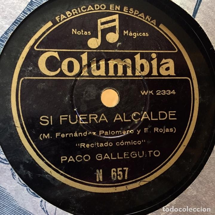Discos de pizarra: PACO GALLEGUITO EL ATROPELLO DEL DIA SI FUERA ALCALDE - Foto 2 - 179312992