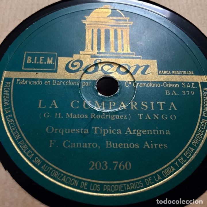 ORQUESTA TIPICA ARGENTINA EL ENTRERRIANO LA CUMPARSITA TANGO (Música - Discos - Pizarra - Solistas Melódicos y Bailables)