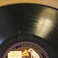 Discos de pizarra: DISCO DE PIZARRA ORACIÓN DE LOS PASTORES DE MARCHENA Y EN LOS LAGOS DE ALMODOVAR. Lote 180123546