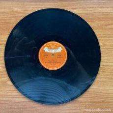 Discos de pizarra: CATERINA VALENTE // FIESTA CUBANA - CASANOVA // SHELLAC 78 RPM //ALEMANIA. Lote 181157172