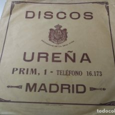 Discos de pizarra: DISCO DE PIZARRA - LA GIRALDA PASODOBLE DE JUARRANZ Y JOTA LA ALEGRIA DE LA HUERTA DE CHUECA - EN B. Lote 181870541